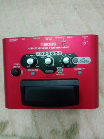 Pedal de voz ve-2 harmonist com fonte - Foto 3
