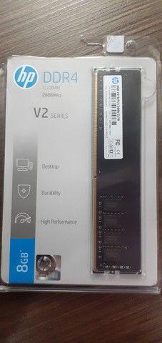 Memória HP V2, 8G para Desktop (novo com NF)