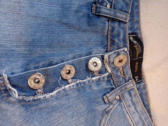 Short Jeans - Cintura alta - 34 - Foto 3