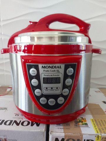 Panela de Pressão Mondial Digital 5L , Nova , 127 volts  - Foto 3