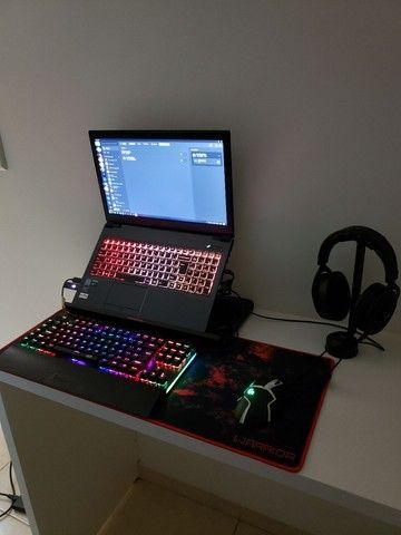 Vendo notebook gamer com acessórios  - Foto 2