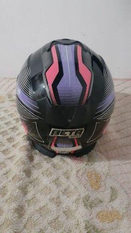 Vende-se capacete feminino - Foto 2