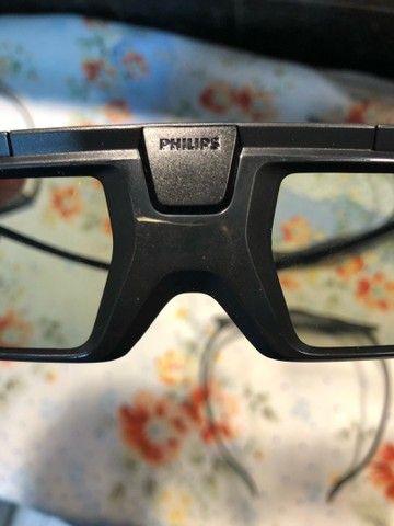 4 óculos 3D Ativo para TVs Philips  - Foto 6