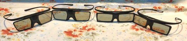 4 óculos 3D Ativo para TVs Philips  - Foto 2
