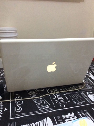 Notebook MacBook White com SSD
