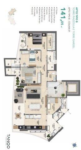 Apartamento para venda com 144 metros quadrados com 3 quartos em Fátima - Fortaleza - CE - Foto 16