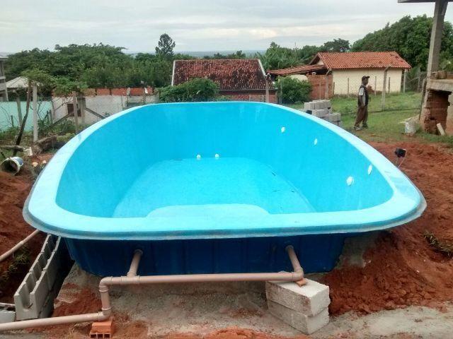 piscina de fibra 8m