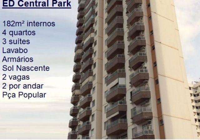 Ed. Central Park. 3 Suítes Praça Popular – 182m²- R 700.000,00 Comp. de armarios