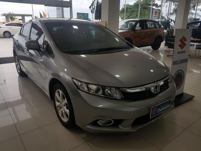 Honda Civic 2.0 EXR km 29.000 teto solar+automático+multimidia