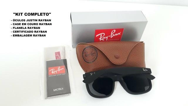 053016086c3ef Óculos de sol Ray Ban Justin Lente polarizada a pronta entrega ...