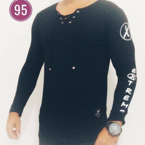 323ae840b Kit 10 Camisa Manga Longa Masculina Long Line Clothes Styles ...