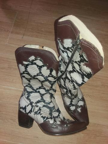 e23e29a96c Bota cowtry em couro n.35 - Roupas e calçados - Lindóia