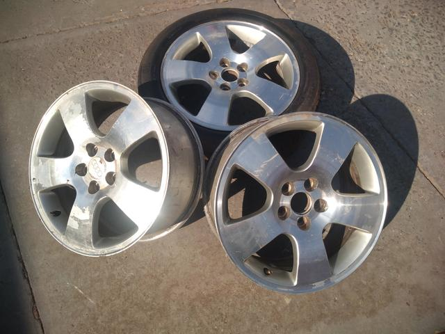 3 rodas Audi Golf Fox aro 16 5x100 - Foto 8
