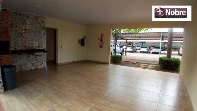 Apartamento para alugar, 68 m² por r$ 1.050,00/mês - plano diretor norte - palmas/to - Foto 3