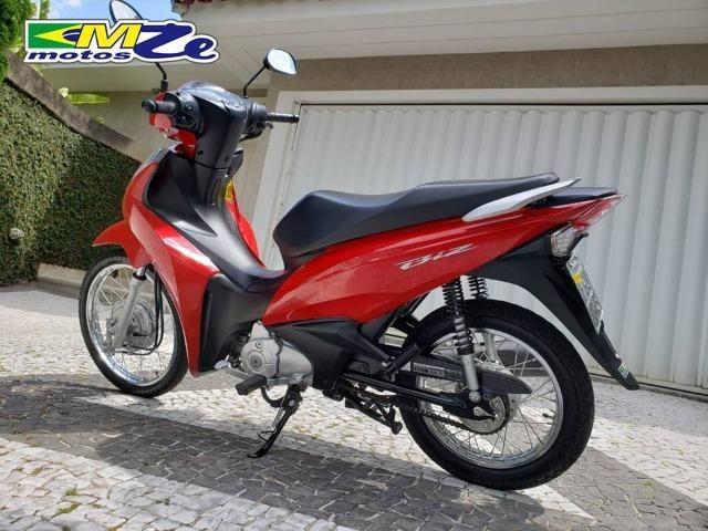 Honda Biz 110 I 2018 Vermelha com 5.000 km - Foto 7