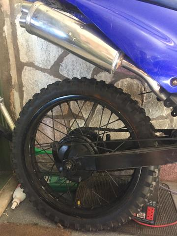Xtz 125 para trilha partida e freio a disco - Foto 6
