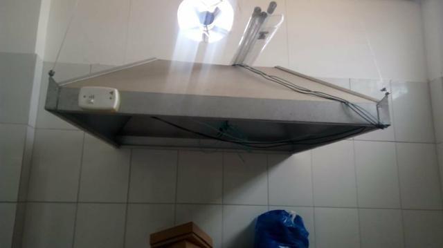 Coifa, dutos e exaustor 220v