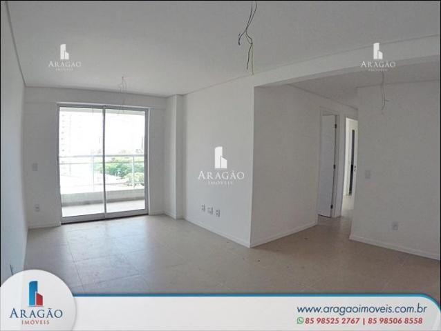 Apartamento com 3 suítes à venda, 94 m² por r$ 780.000 - aldeota (repasse de particular) - Foto 3