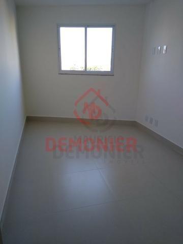 Alugo apartamento novo 2 quartos com suíte, 1 vaga, Campo Grande, com lazer - Foto 12
