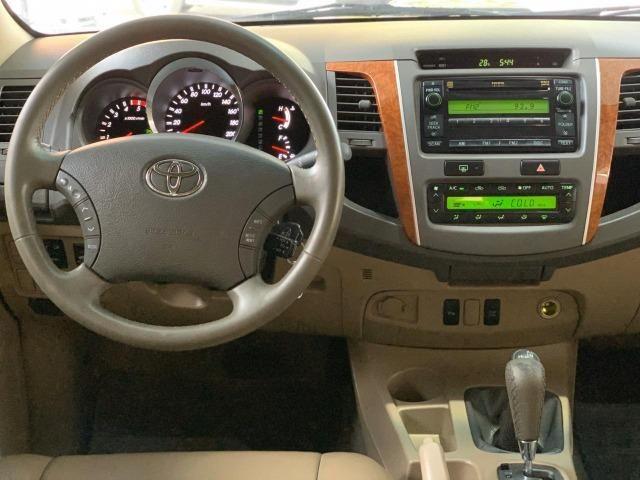 Toyota SW4 SRV 3.0 4x4 Diesel Aut 2010/2011 7 Lugares - Foto 14
