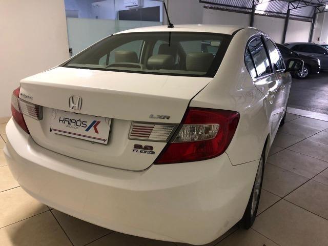 Honda-Civic LXR 2.0 Automático Branco 2014/14 - Foto 3