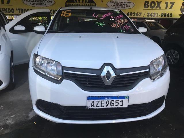 Renault Logan 2016 + GNV ( Único Dono)