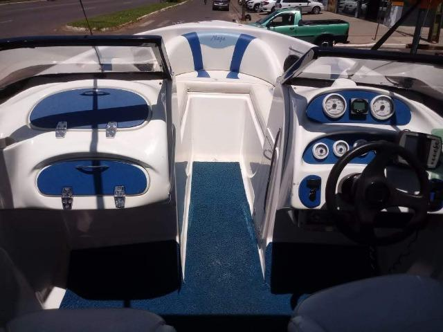 Lancha 19 Pes Motor Mercury Optimax 135HP 125 Horas - Foto 11