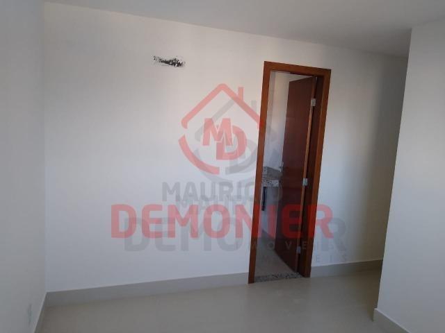 Alugo apartamento novo 2 quartos com suíte, 1 vaga, Campo Grande, com lazer - Foto 6