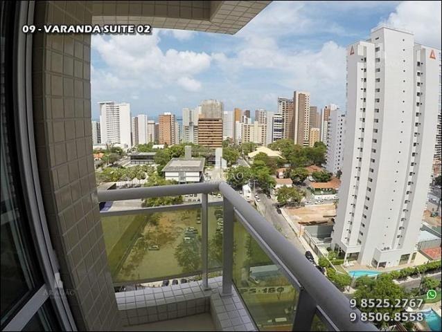 Apartamento à venda, 124 m² por r$ 1.150.000,00 - meireles - fortaleza/ce - Foto 2