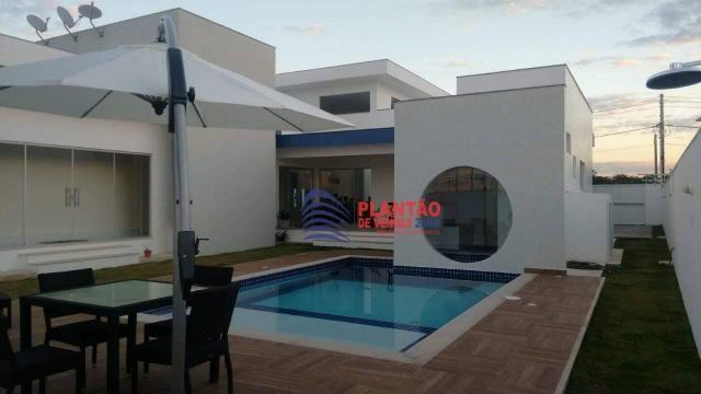 Linda casa linear com 4 quartos alto padrão no Viverde fase 2 - Foto 19