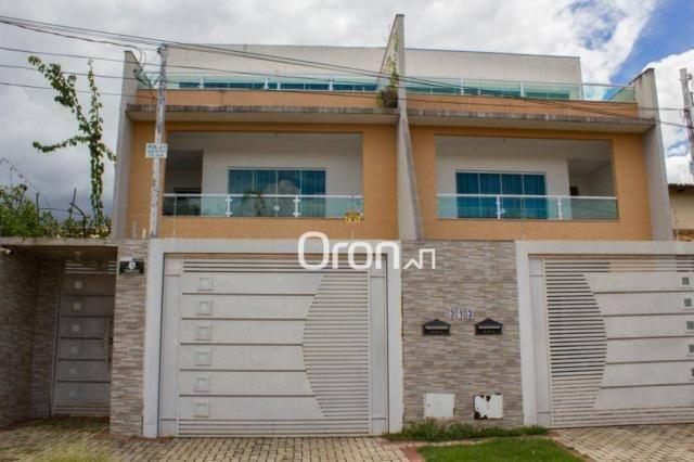 Sobrado com 4 dormitórios à venda, 364 m² por R$ 780.000,00 - Setor Jaó - Goiânia/GO - Foto 2
