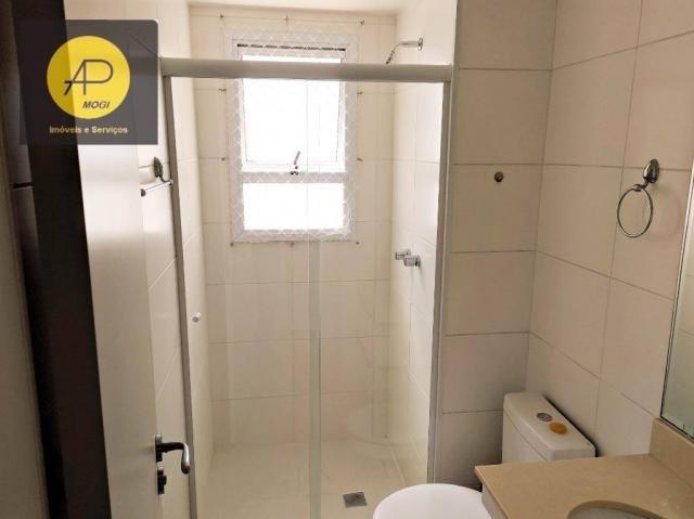 Apartamento com 1 dormitório para alugar, 46 m² - Centro Cívico - Mogi das Cruzes/SP - Foto 14