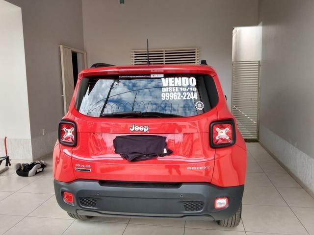 Renegade a diesel 4X4, automático 09 marchas - Foto 4