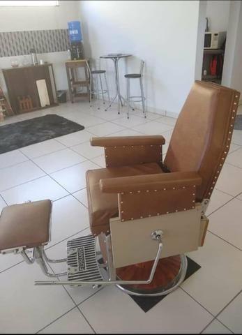Cadeira de Barbeiro Ferrante anos 60 - Foto 4