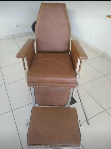 Cadeira de Barbeiro Ferrante anos 60 - Foto 3