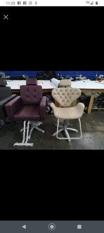 Cadeira para salão diretamente de Fábrica - Foto 6
