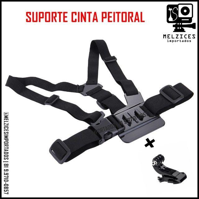 Suporte de Peito Para GoPro, Similares e Smartphone - Foto 5
