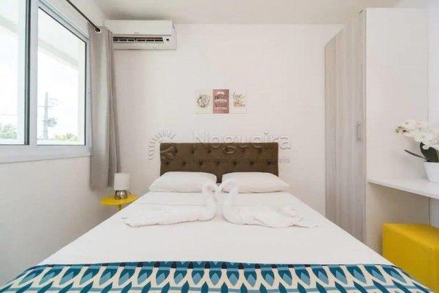 JO-Lindo apartamento mobiliado com 3/4 em Muro Alto - Foto 11