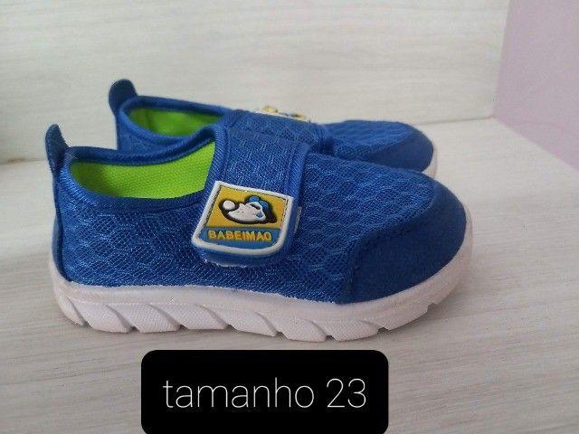 kit -3 tênis e 1 sandália infantil  ( cada unidade sai por R$ 22.50) - Foto 5