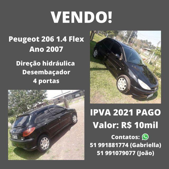 Peugeot 206 2007 - Foto 3