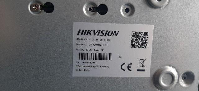 BARBADA! Kit completo CFTV 4 câmeras GIGA barato! - Foto 5