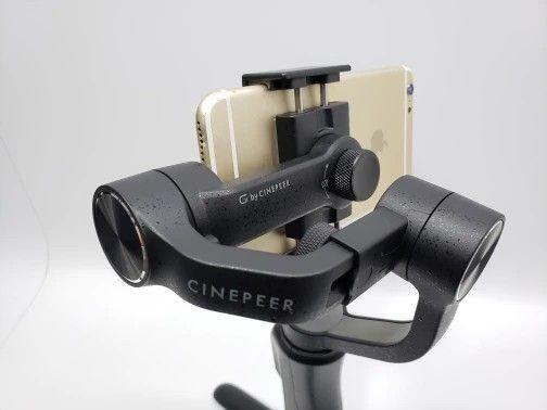 """""""PROMOÇÃO"""" Gimbal Zhiyun Cinepeer C11 3 Eixos Estabilizador de Celular - Foto 3"""