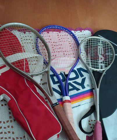 Raquetes originais Wilson pequena, grande media - Foto 3