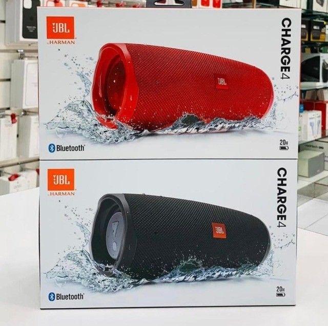 Caixa de Som Portátil JBL Charge 4 - À prova D`Água - Bluetooth - 30W - Foto 2