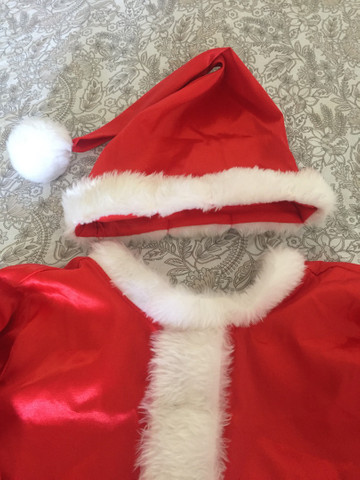 roupa de papai Noel infantil  - Foto 2