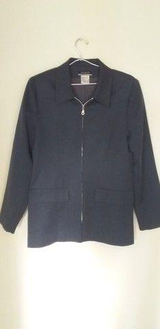 25 conjunto blazer + calça Cenarium Tam M (NOVO)