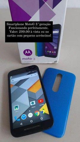 Smartphone MotoG 3°geração aceito cartão  - Foto 4