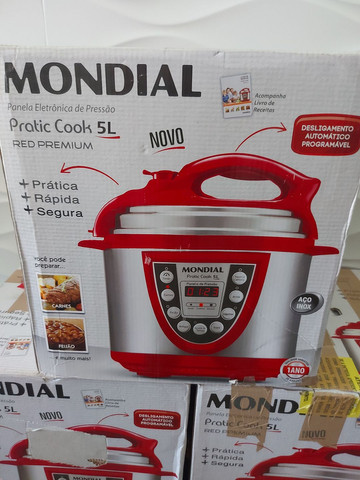 Panela de Pressão Mondial Digital 5L , Nova , 127 volts  - Foto 2