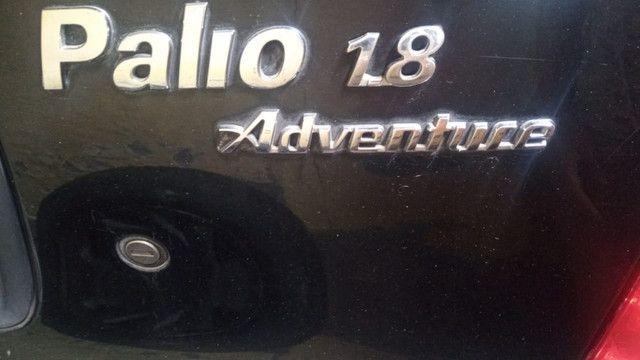 Palio Weekend Adventure 1.8 - com GNV - sem pendências - mecânica boa e revisada - Foto 2