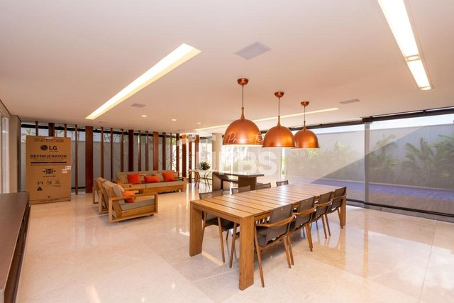 Moderno sobrado de luxo no Alphaville Araguaia, com 442 m² e 4 suítes, com lazer completo - Foto 13